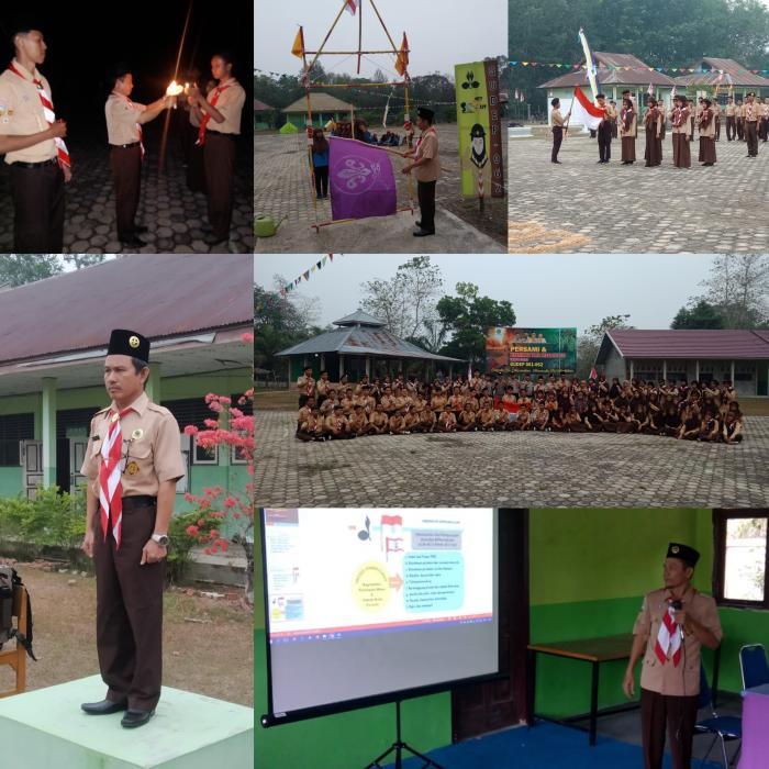 Penerimaan Tamu Ambalan (PTA) Gerakan Pramuka MAN 3 Batanghari